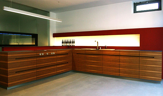Küche Nussbaum morasch schreinerwerkstätte individuelle küche 08